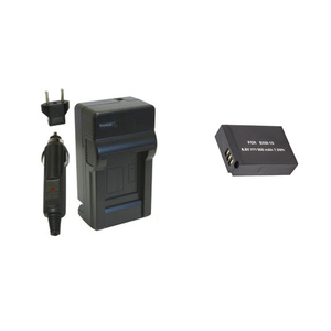 BXM10 BXM-10 Replacement Battery + Charger for XiaoYi YI-M1 Mirrorless Camera.