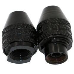 Mini outils rotatifs sans clé Dremel 0.3-3.2mm mandrin de forage sans clé changement rapide mandrins de forage à trois mâchoires accessoires rotatifs nouveau