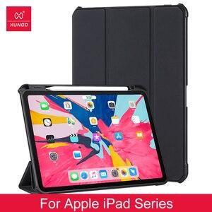 Tablet Case de proteção Para Apple Ipad 10.2 Pro 11 12.9 Polegada 2017 2018 Mini 1 2 3 4 5 Caso 11 Polegada Capa de Couro Proteção Airbag