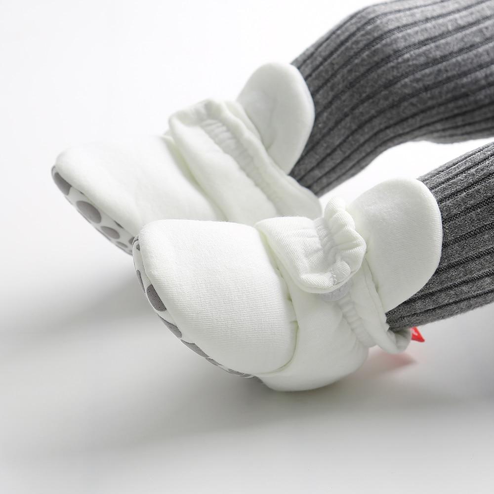 de tornozelo prewalkers botas de algodão inverno