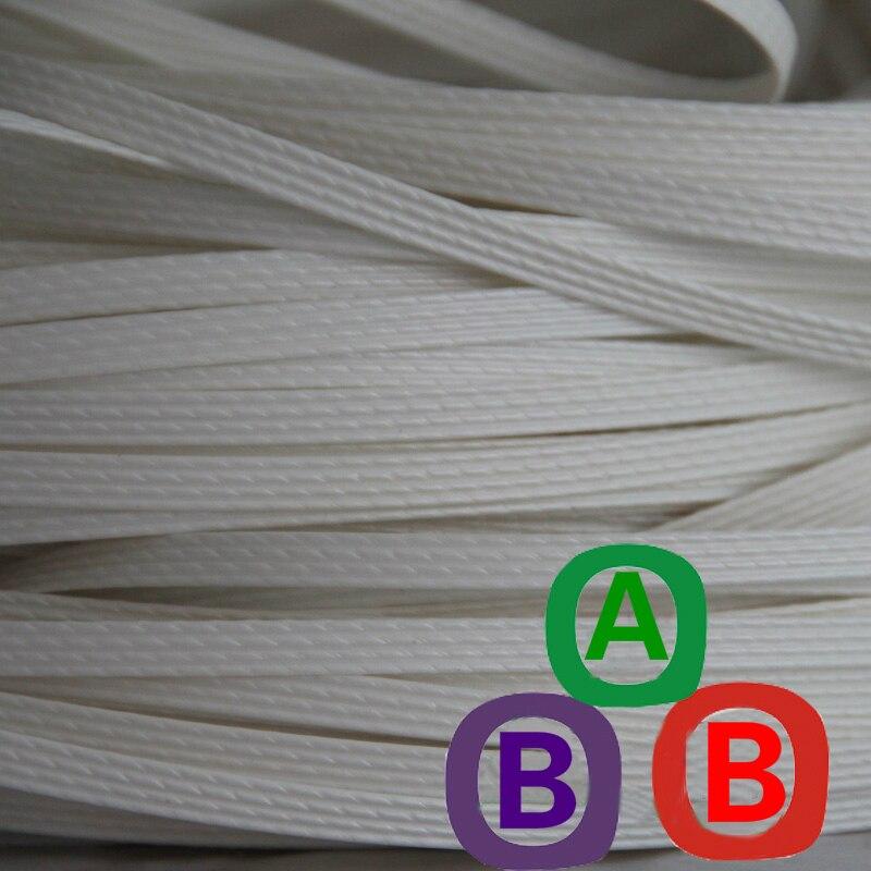 White Four Lines Synthetic Plastic Rattan Weaving Material Plastic Knit Repair Bag Chair Table Plastic PE Rattan