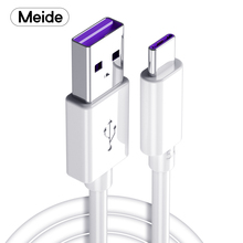 Meide 5A USB кабель для XiaoMi samsung HUAWEI VIVO OPPO мобильный телефон type c только Быстрая зарядка без вреда для машины Быстрая зарядка