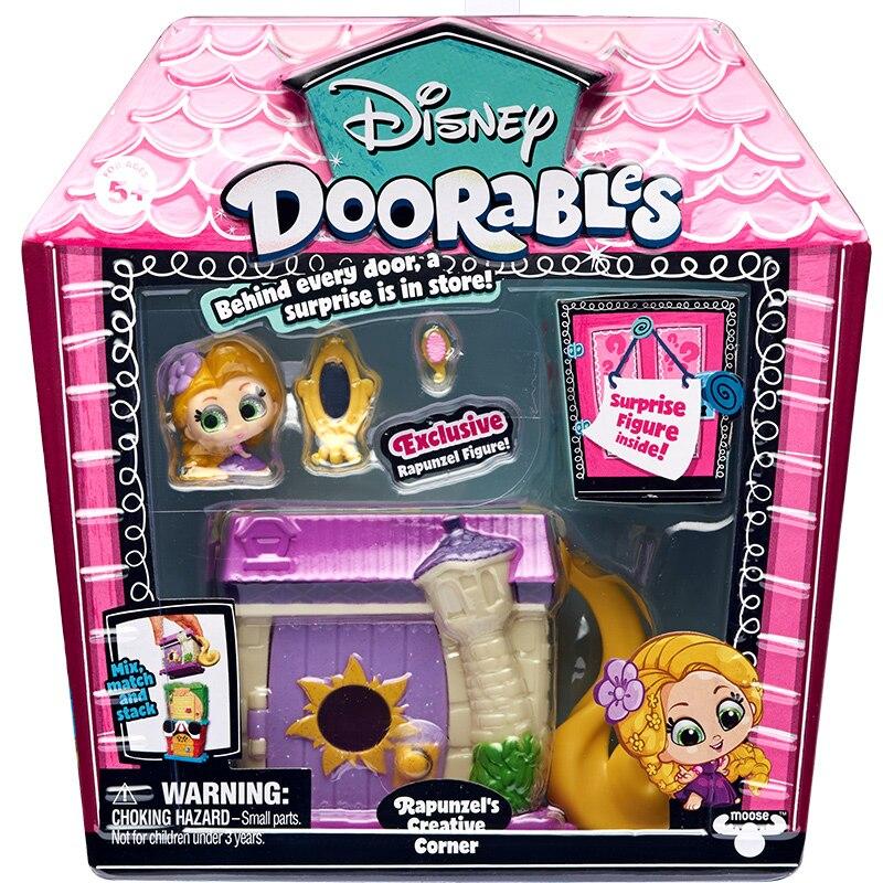 Disney Doorables Frozen Elsa Olal Mickey Minnie Judy Pinocchio Rapunzel Alice Snow White Belle Princess Blind Box Girl Kids Toys 22