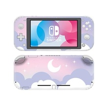 Decal-Cover Sticker Switch Skin Lite-Protector Nintendo Starry Cloud Sky