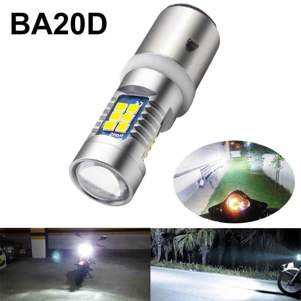 852B Scheinwerfer LED-Licht 6000K BA20D LED High Low Motorradteile Für