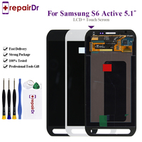 100% Tested Original For Samsung Galaxy S6 active G890 G890A LCD Display+Touch Screen Digitizer Assembly 5.1'' S6 Active Lcd