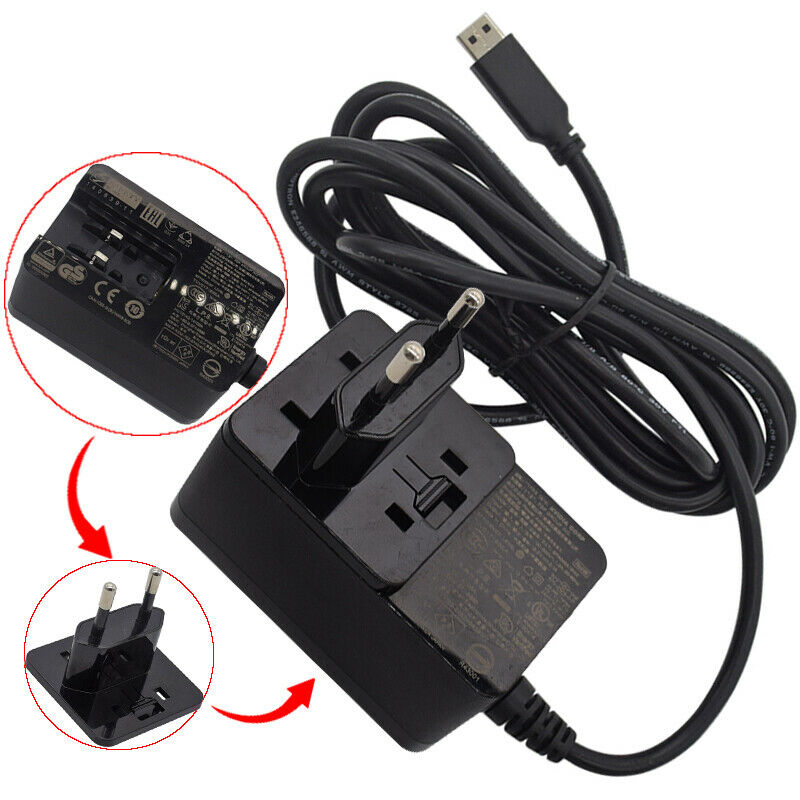 For Nvidia Shield TV 2017 4K HDR Streaming Media Player AC Adapter Power Supply EU plug - Used image
