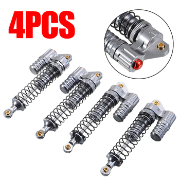 4Pcs 100mm Full Metal Shock Absorber Bearing Suitable For 1/10 Axial SCX10 II D90 RC Crawler Accessories 4pcs set rc 4wd 1 10 model crawler care universal hydraulic shock absorber climbing car negative pressure shock absorber 100mm
