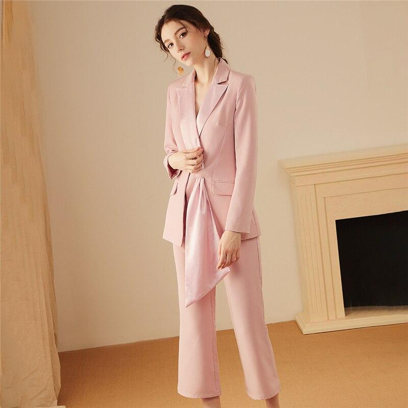 36.1 129.99,Women`s suit new women`s slim suit two-piece blazer with straight trousers set stylish unique design women`s suit new arrivals