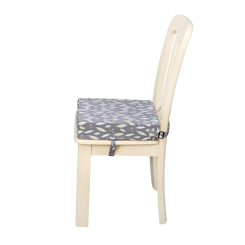 Square Booster Seat Dining Chair Washable Thick Increasing Cushion for Kids Baby Toddler Highchair Pad
