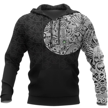 Viking Odin  - 3D Printed Fashion Hooded Sweatshirt 1