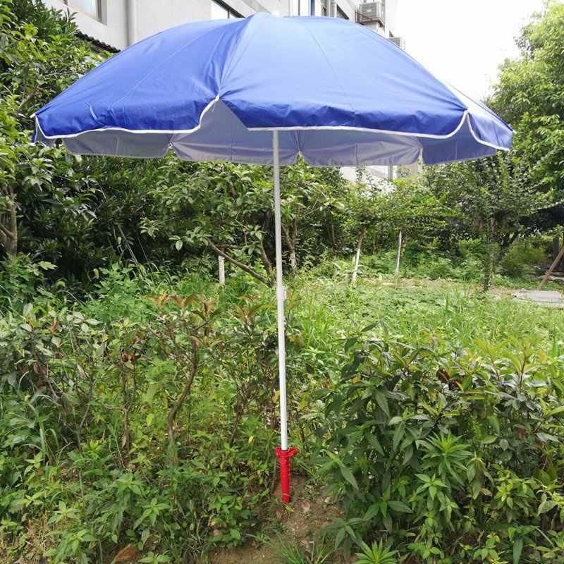 НОВЫЙ СОЛНЦЕЗАЩИТНЫЙ пляжный рыболовный стенд дождевик садовый патио зонтик наземный якорь Спайк зонтик растягивающийся Стенд держатель 1 шт. x