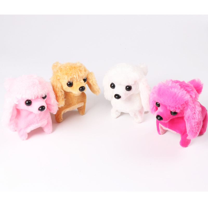 Cross Border Hot Sales Electronic Pet Forward Backward Will Call Poodle Strange New Plush Toys Manufacturers Direct Selling