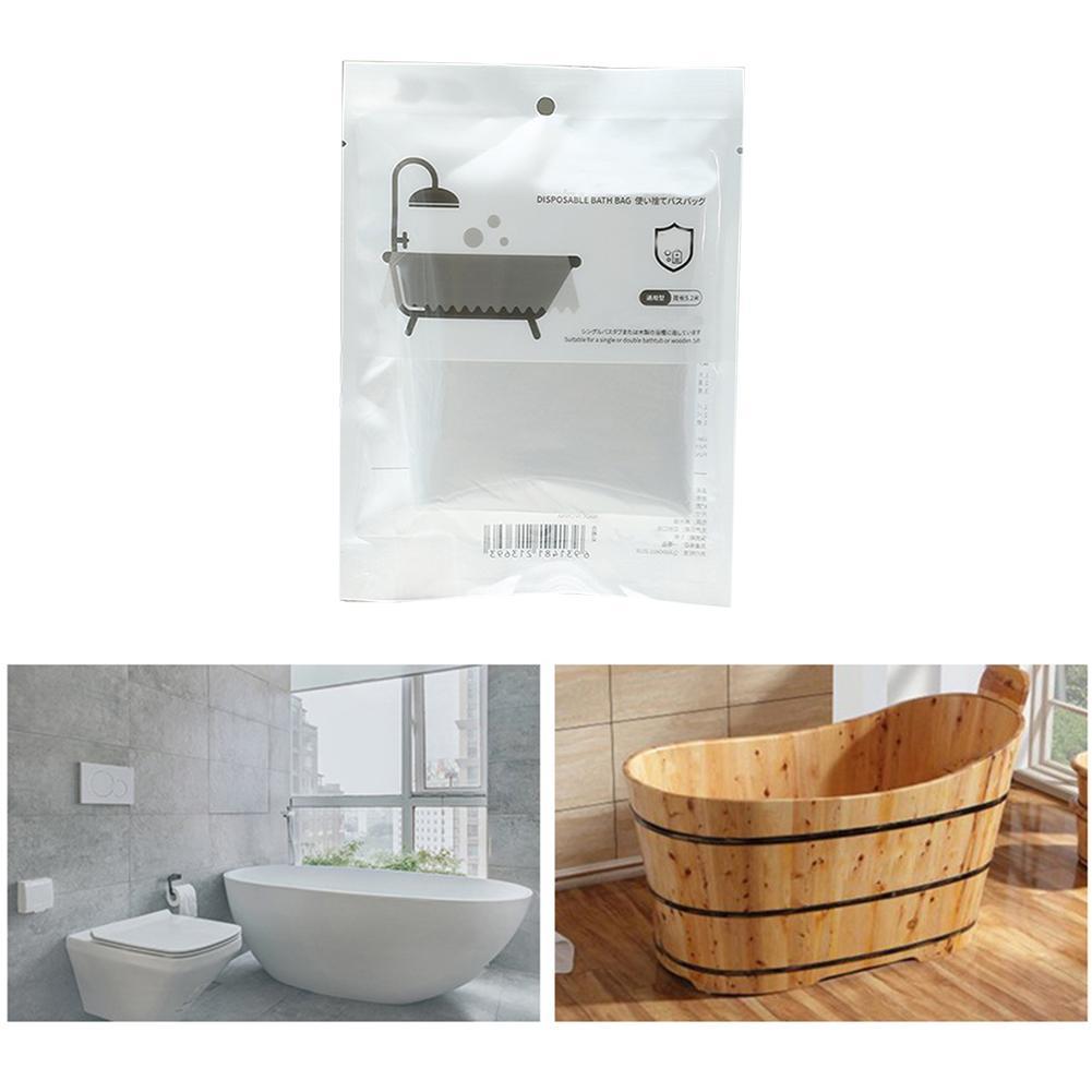 Disposable Bathtub Cover Portable Bathtub Travel Bathtub Film Adult Bath Tub Bag Baby Swimming Bag Plastic Bag Spa Bath Bucket