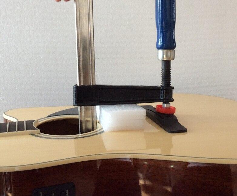 Outils d'entretien de guitare panneau boîte étanchéité pince et cou fissure pince pince harpe yards pour 2 types d'outils
