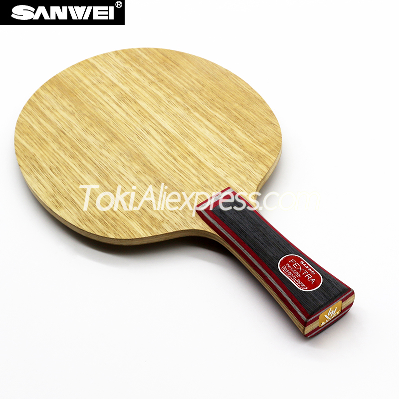Sanwei FEXTRA / NORDIC 7 Table Tennis Blade (7 Ply Wood) SANWEI Racket SANWEI Ping Pong Bat Paddle