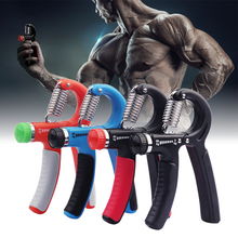 Hand Arm Grip Workout Fitness Strength Trainer Adjustable Re