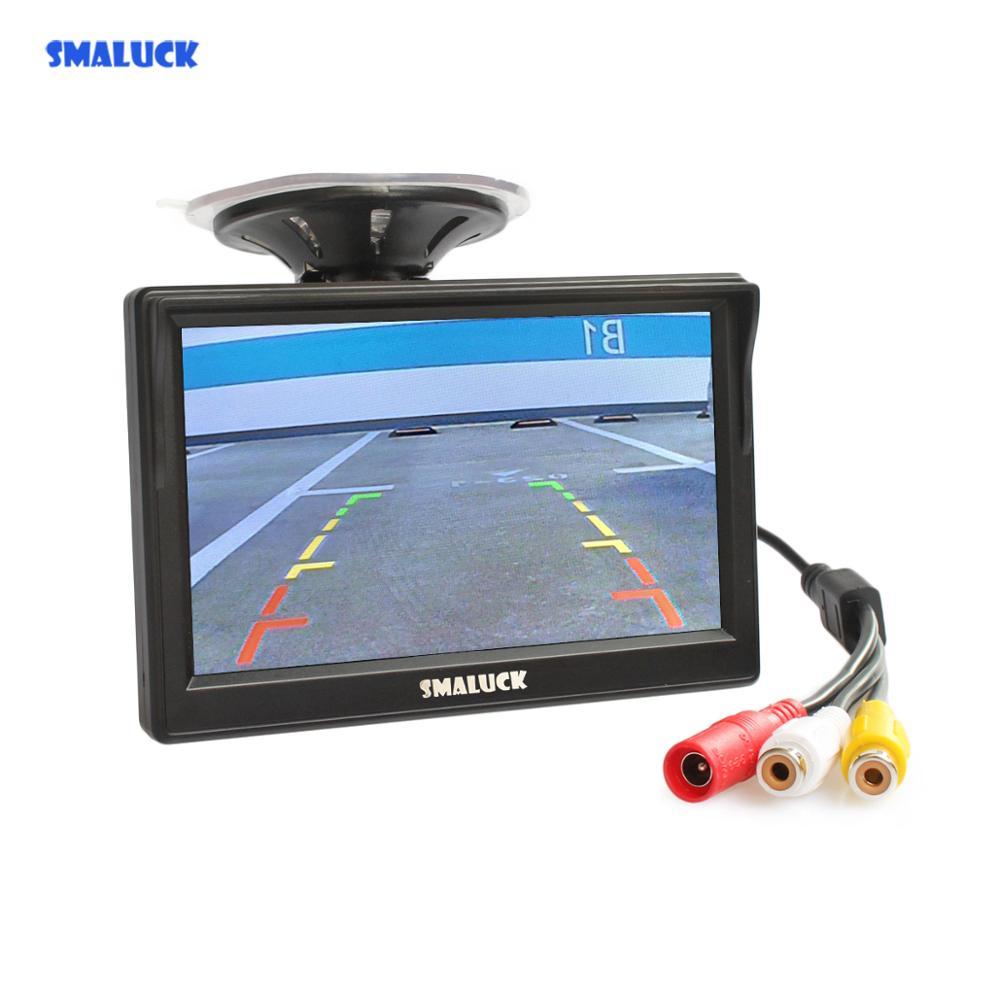 SMALUCK 5 Zoll Auto Monitor TFT LCD 5