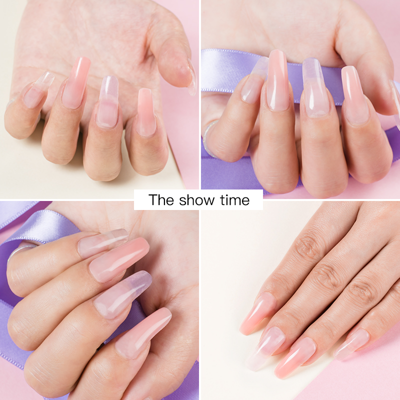Poly UV Nail Extension Gel Kit 6