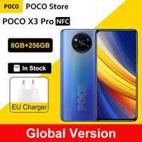 "Global Version POCO X3 Pro 8GB 256GB Snapdragon 860 Quad AI Camera 6.67"" 120Hz DotDisplay 5160mAh 33W Charge NFC 1"