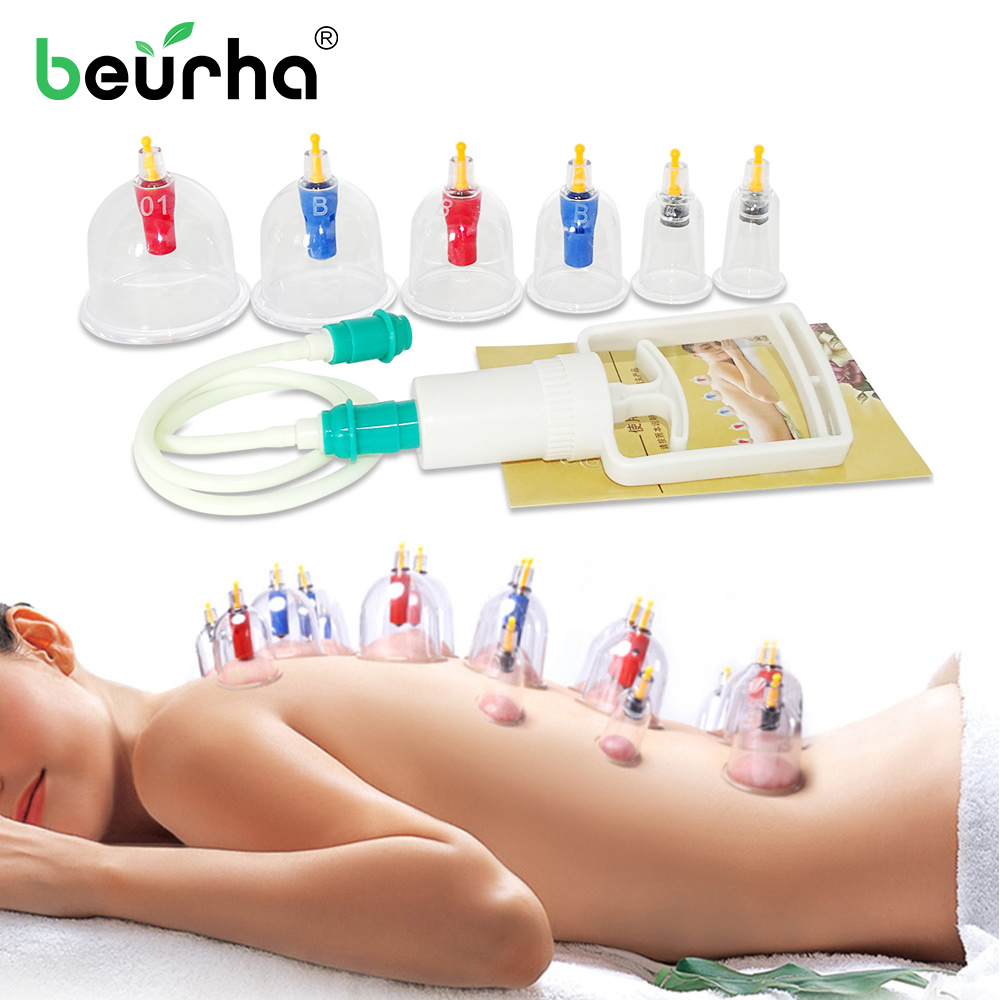 Body-Massager-Set Therapy-Cups Healthy-Suction-Therapy-Device Medical-Vacuum Chinese
