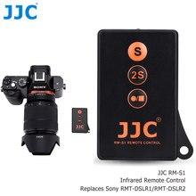 Jjc RMT-DSLR1 RMT-DSLR2 ir controle remoto sem fio controlador de gravação vídeo para sony a7siii a7iii a7riii iv a6400 a7r a7ii a99