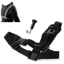 цена на Shoulder Chest Strap Mount Harness Belt For GoPro Hero 3 3+ 4 Session Brand New