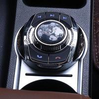 Универсальный чашки Форма с светодиодный светильник 8-ключевой функции автомобиля Беспроводной рулевого колеса Управление кнопка для авто...