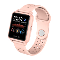 Full touch Smartwatch Heart Rate Blood Pressure Health Waterproof Smart Watch Bluetooth Watch Wristband Fitness Tracker