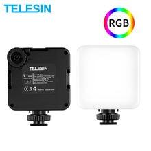 Telesin mini rgb светодиодный светильник для видео 2000 мАч