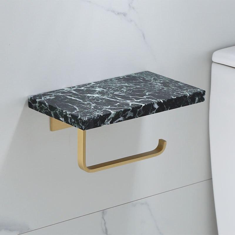 Porte papier toilette marbre