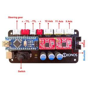 Image 4 - 40x50 lazer gravür makinesi 0.5 1.5w DIY mini lazer gravür ahşap plastik deri paslanmaz çelik vb lazer kesici işaretleme plotter
