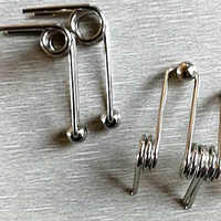 4pc/Piece Professional Custom Stainless Steel Torsion Spring, Especially Suitable For Perm Rod 1.2x24mm / 1.2x26mm / 1.2x28mm