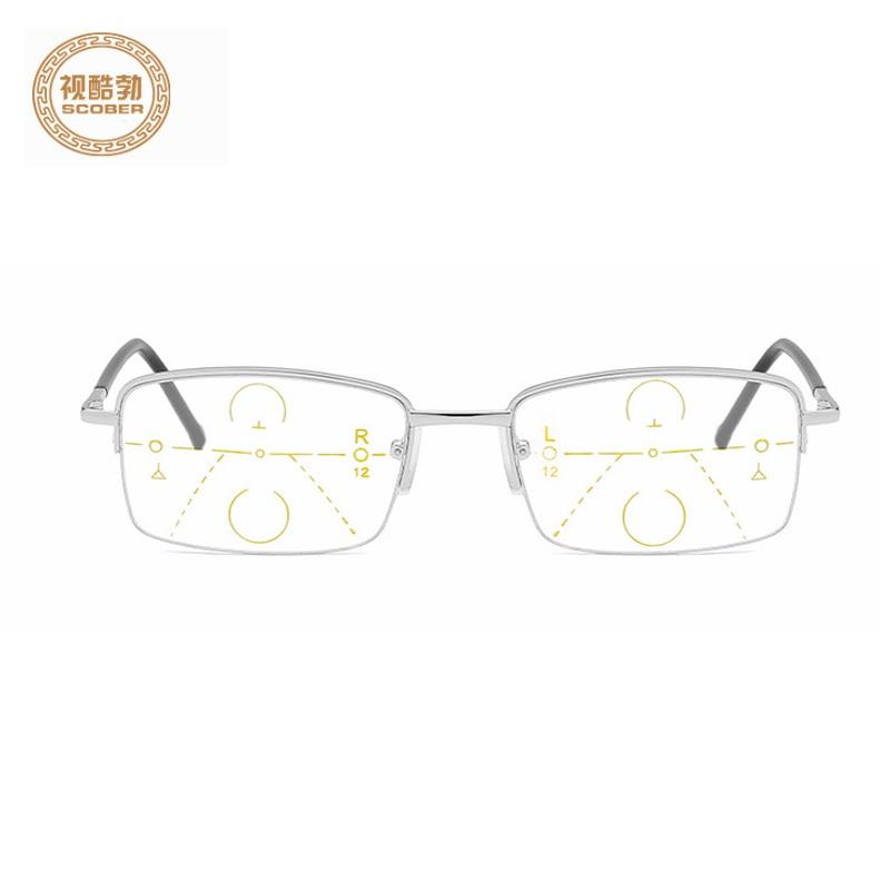 Reading-Glasses Smart-Zoom Progressive Multi-Focus Anti-Blue Women Near And Far Dual-Use