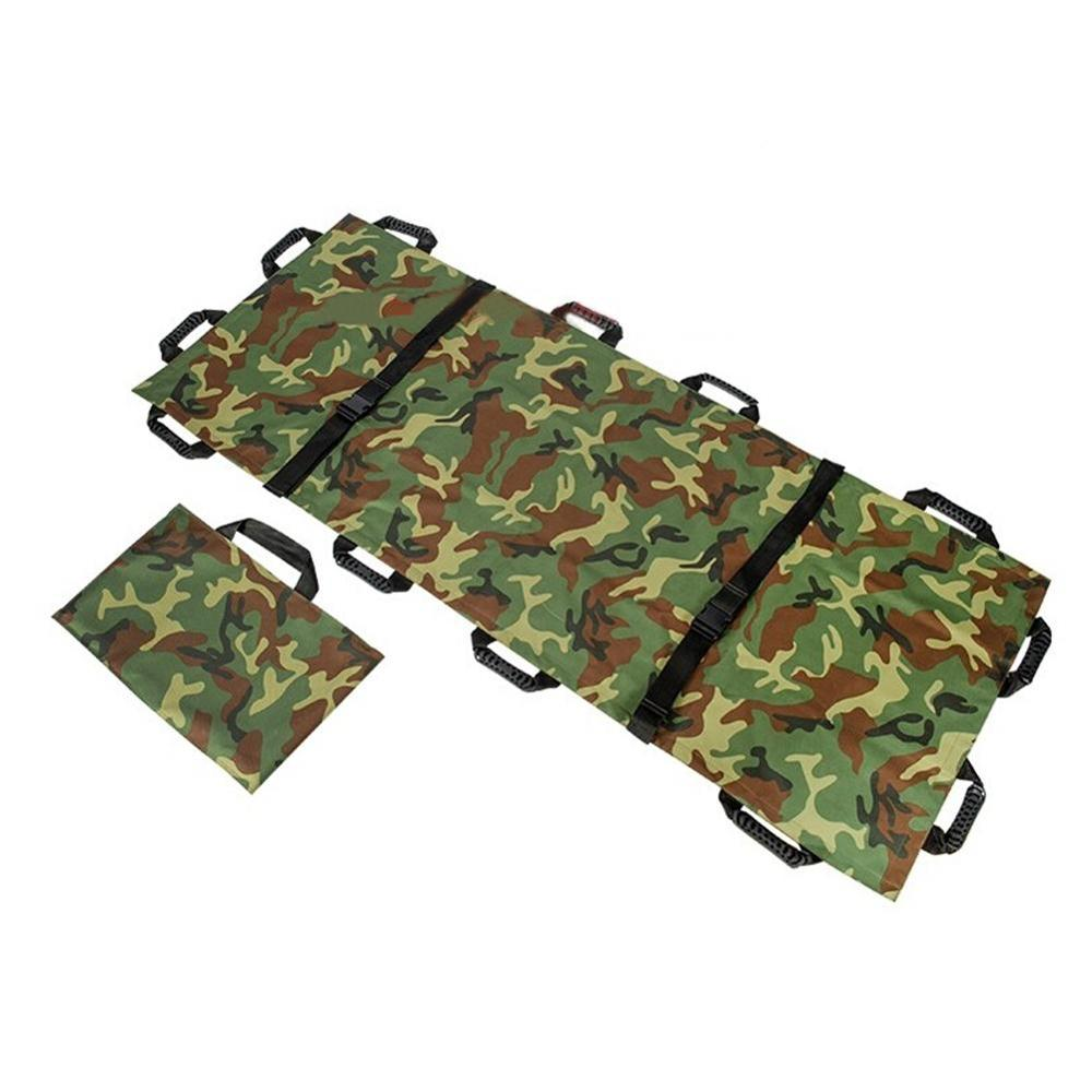 Soft Emergency Folding Stretcher Bed Household Medical Stretcher Safety Belt FOR FIRST AID SUPPLY