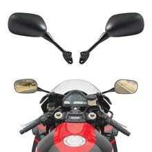 цена на Motorcycle Rearview Side Mirrors For Honda CBR1000RR 2004-2007 2005 2006 CBR600RR 2003-2018 Black