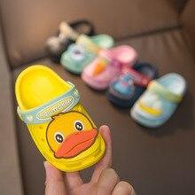 Girl Shoes Flip-Flop Kid Beach Sandal Flats Animal Children Boy for Summer EVA