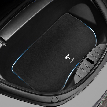 Direct Car Front Trunk Mat Dustproof Odorless Washable Heavy-Duty All-Weather Flexibility Customized for Tesla Model 3 2017-2021