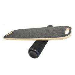 De equilibrio de madera junta de Yoga de torsión Fitness Placa de Balance Core entrenamiento Abdominal cintura piernas los músculos de-equilibrio