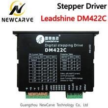 Motorista deslizante leadshine dm422c para 24-40vdc para fora 2.2a nema14 nema17 motor deslizante newcarve