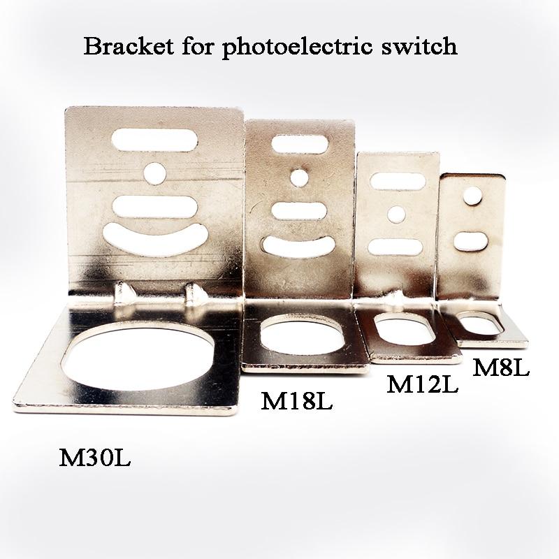 Bracket For Photoelectric Switch Beam Sensor L Type Plank Type