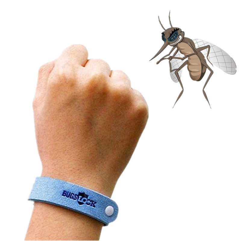 Camping Safer Anti Mosquito Bracelet OutdoorAnti Mosquito Bug Repellent Wrist Band Bracelet Insect Nets Bug Drop Shipping