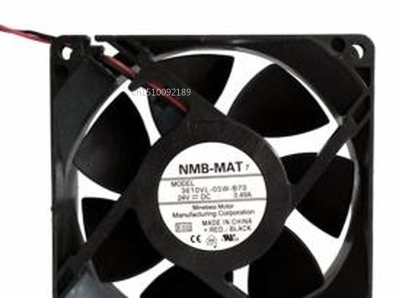 For NMB 3610VL-05W-B70 9225 92mm DC 24V 0.49A Server Inverter Cooling Fan Free Shipping