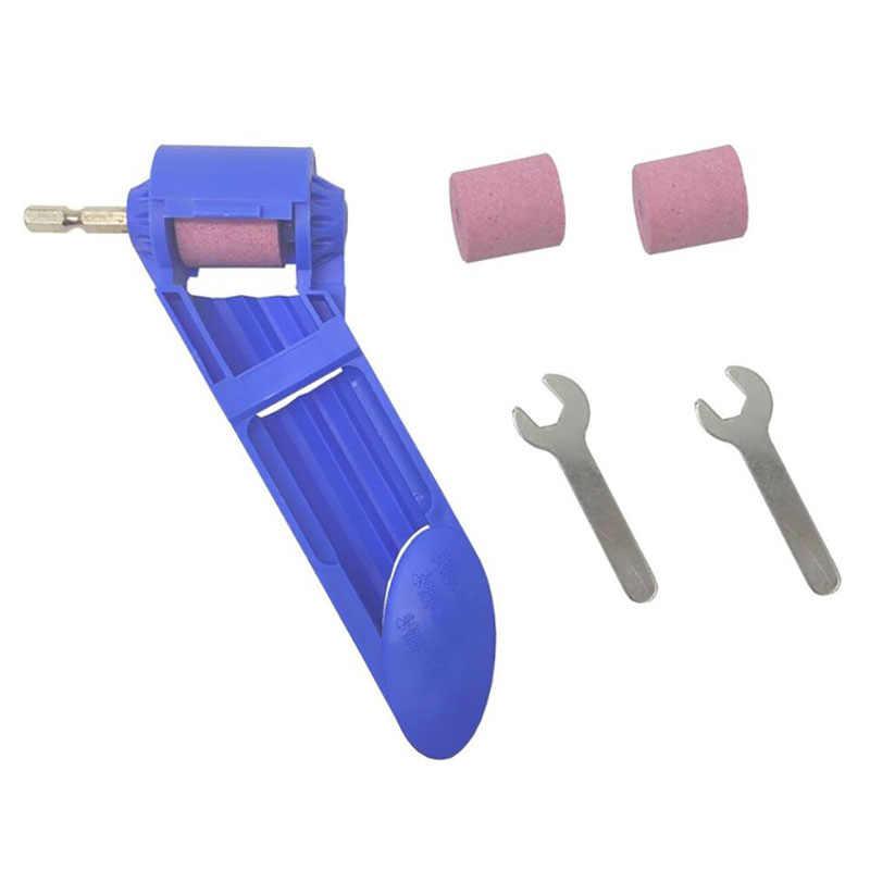 2-12,5 Mm afilador de brocas para taladro de corindón de rueda portátil alimentado herramienta para taladro de pulido afilador de brocas para taladro