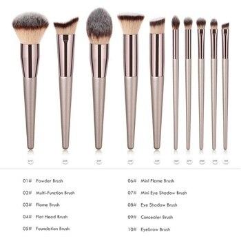 Luxury Makeup Brushes Set For Foundation Powder Blush Eyeshadow Concealer Lip Eye Make Up Brush Cosmetics Beauty Tools