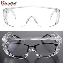 PC Safety Goggle Protective Glasses Eye Protection Anti-Dust&Shock Goggles Transparent Eyepiece Proteccion Goggle leilin transparent models protective glasses anti shock gafas seguridad trabajo anti splashing anti uv cycling glasses