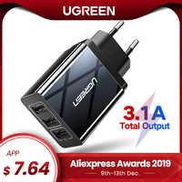 Ugreen chargeur USB pour iPhone Xs X 8 7 chargeur de téléphone rapide pour Samsung Xiaomi Huawei chargeur mural adaptateur ue chargeur de téléphone portable