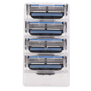 4pcs/lot Shaver Razor Blades Cassette Shaving Blade For Men Face 3-Layer Blades Compatible For Razor Machine