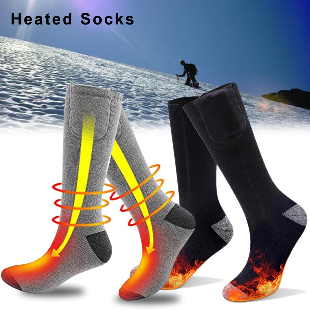 Remote Control Electric Heated Socks With Rechargeable Battery For Chronically Cold Feet Large Size USB Charging Heating Socks