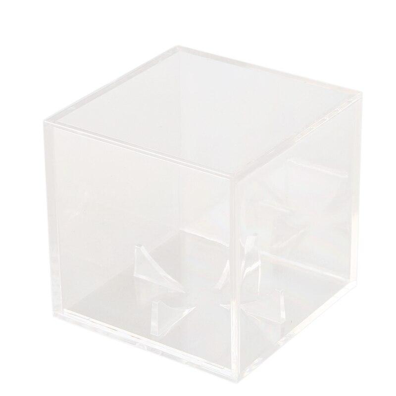 Acrylic 9 Inch Baseball Box Display Golf Tennis Ball Transparent Case For Souvenir Storage Box Holder Uv Protection Dustproof